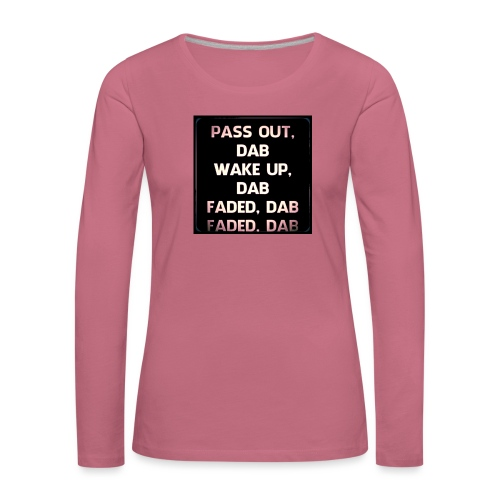 DAB - Vrouwen Premium shirt met lange mouwen