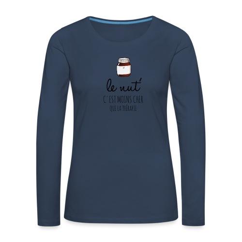 Le Nut' - T-shirt manches longues Premium Femme