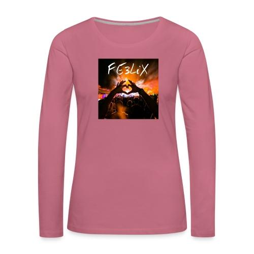 FE3LiX Logo. . g - Frauen Premium Langarmshirt