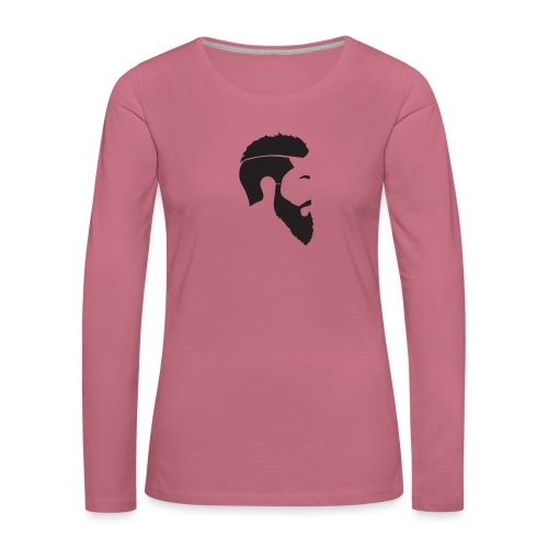 HEAD WHITE T-SHIRT - Långärmad premium-T-shirt dam