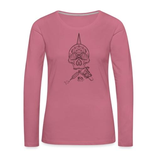 Skull tattoo - T-shirt manches longues Premium Femme