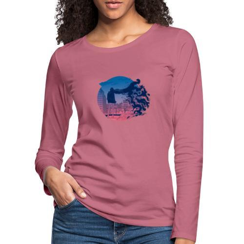 Solid State Memories - Women's Premium Longsleeve Shirt