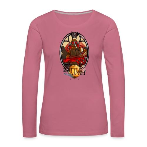 Battle for Legend : Les Moustiques - T-shirt manches longues Premium Femme