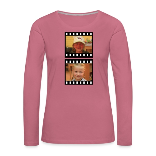 lente tess png - Vrouwen Premium shirt met lange mouwen