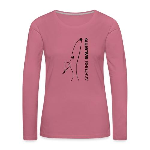 Galgitis - Frauen Premium Langarmshirt