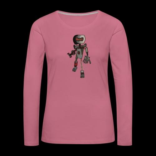 Rock OT BY TAiTO - Naisten premium pitkähihainen t-paita