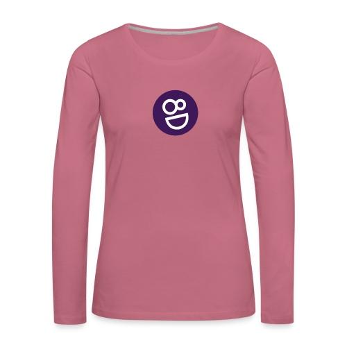 logo 8d - Vrouwen Premium shirt met lange mouwen