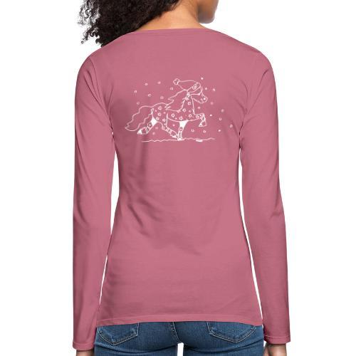 Weihnachtstölter - Frauen Premium Langarmshirt
