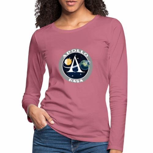 Mission spatiale Apollo - T-shirt manches longues Premium Femme