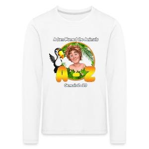 Adam Named the Animals Logo - Kids' Premium Longsleeve Shirt
