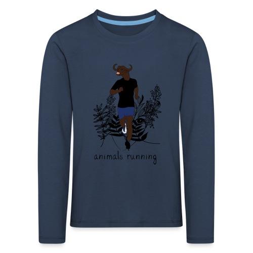 Buffle running - T-shirt manches longues Premium Enfant