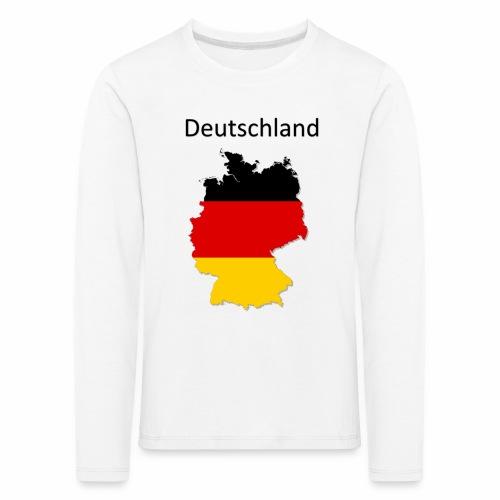 Deutschland Karte - Kinder Premium Langarmshirt