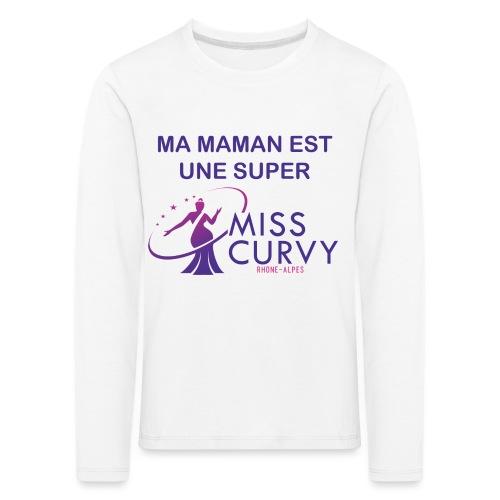 MISS CURVY Ma maman - T-shirt manches longues Premium Enfant