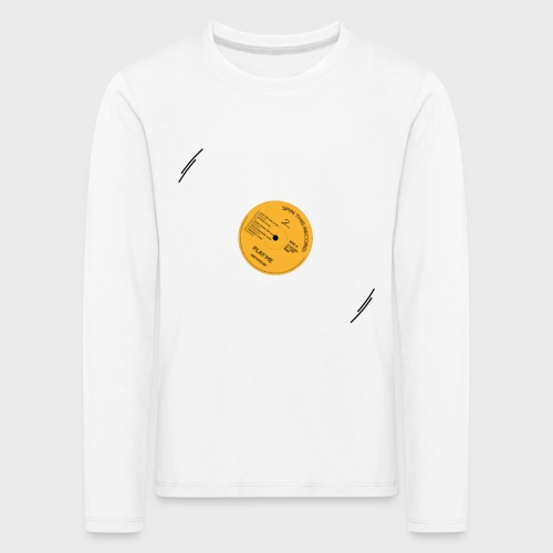 T-Record - Classic Elpee Design - Kinderen Premium shirt met lange mouwen