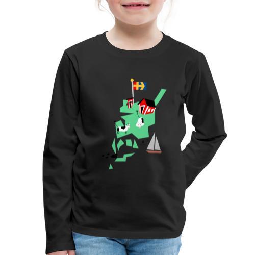 Åboland × Eva: Livet på landet - Lasten premium pitkähihainen t-paita