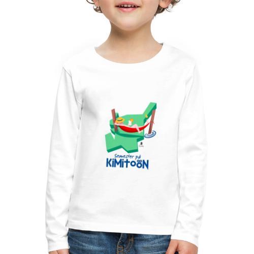 Åboland × Eva: Semester på Kimitoön - Lasten premium pitkähihainen t-paita