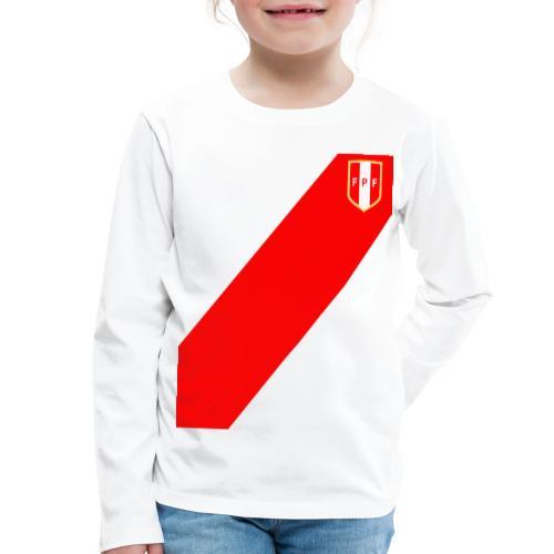 Seleccion peruana de futbol - Camiseta de manga larga premium niño