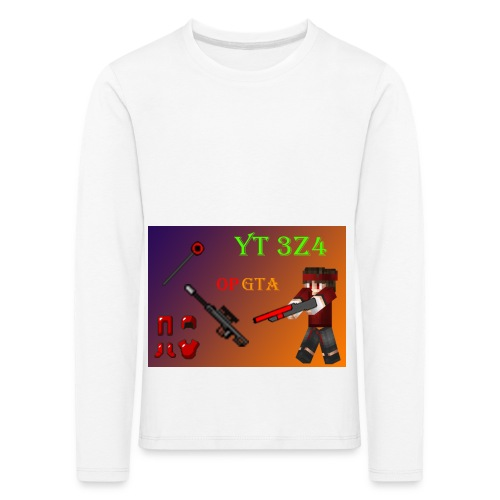 yt 3z4 - Lasten premium pitkähihainen t-paita