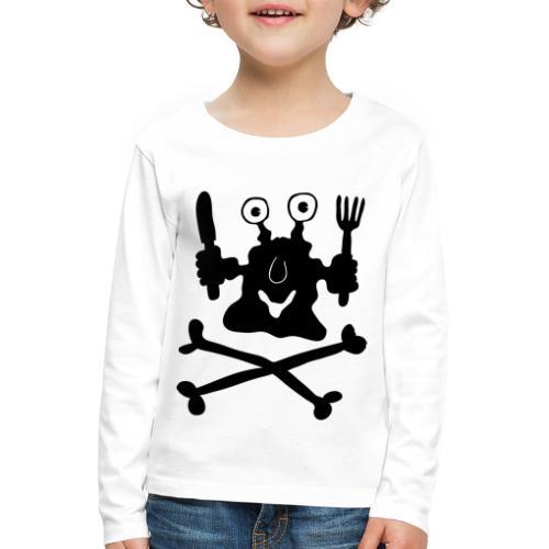 Koch - Kinder Premium Langarmshirt