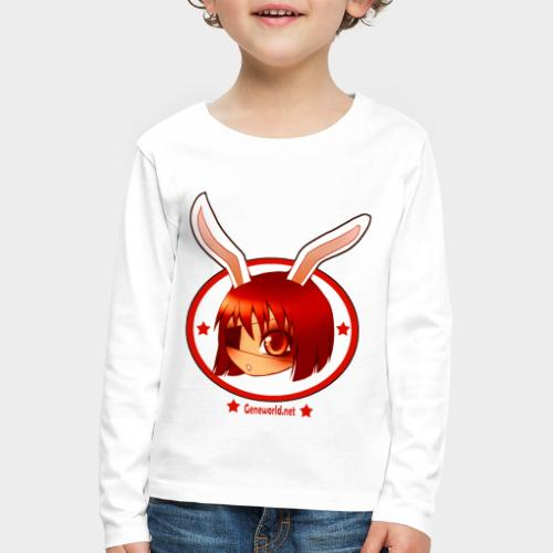 Geneworld - Bunny girl pirate - T-shirt manches longues Premium Enfant