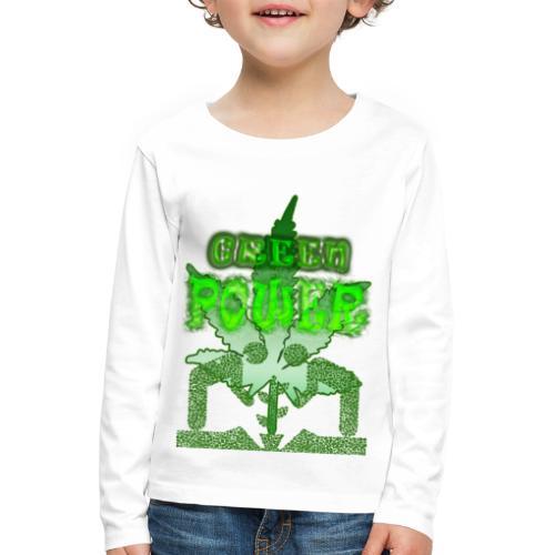 Green Power - T-shirt manches longues Premium Enfant
