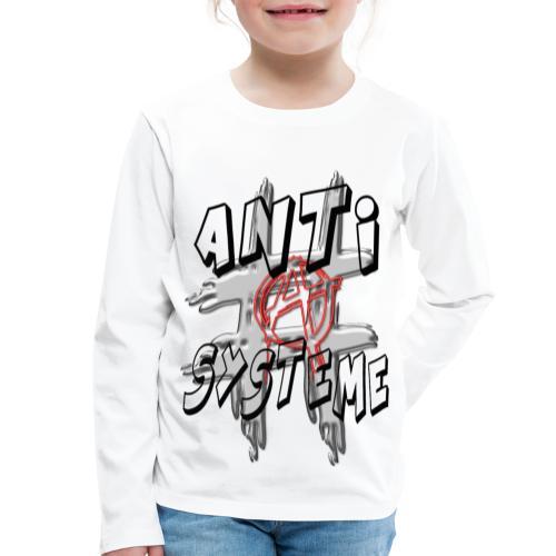 H-Tag Anti Système - T-shirt manches longues Premium Enfant