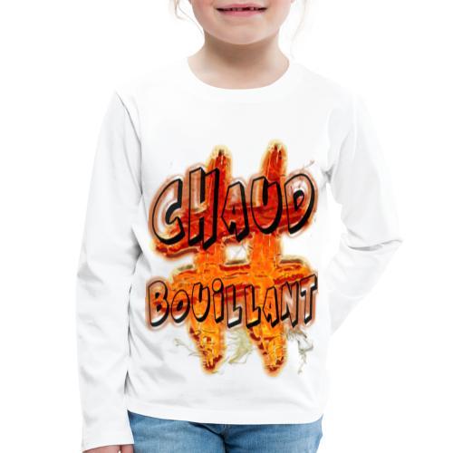H-Tag Chaud Bouillant - T-shirt manches longues Premium Enfant