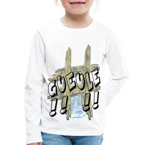 H-Tag Gueule - T-shirt manches longues Premium Enfant