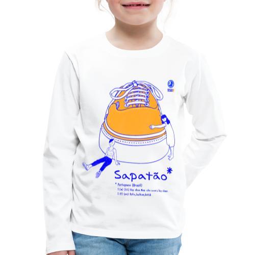 Sapatão - Camiseta de manga larga premium niño