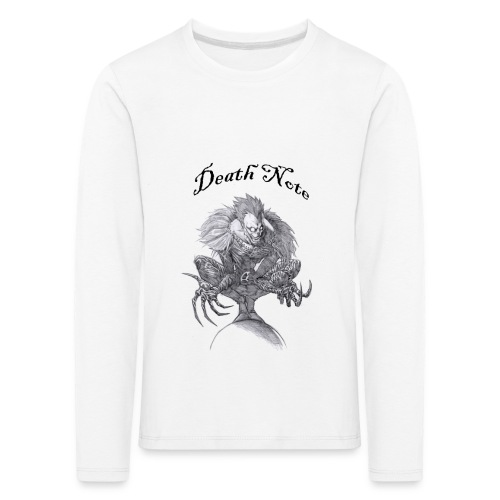 death note t-shirt - T-shirt manches longues Premium Enfant