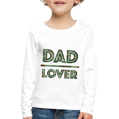 DAD LOVER - Långärmad premium-T-shirt barn