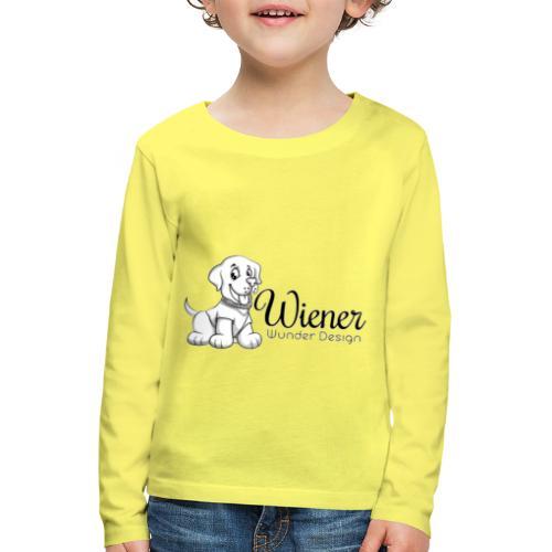 Wiener Wunder Hund - Kinder Premium Langarmshirt