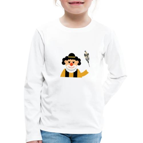 Clown - Kinder Premium Langarmshirt