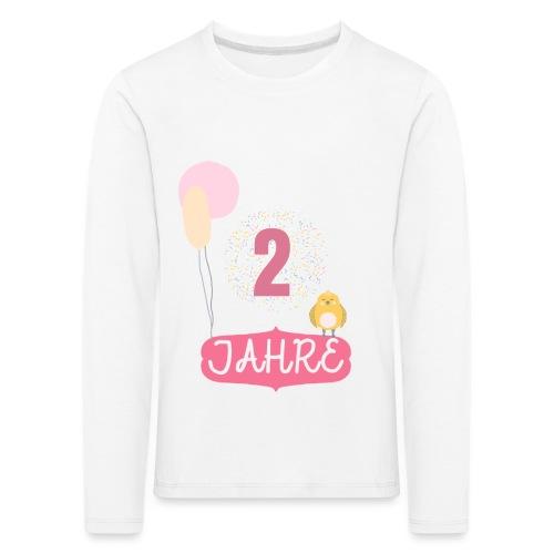 2 Jahre // Geschenk zum 2. Geburtstag - Kinder Premium Langarmshirt