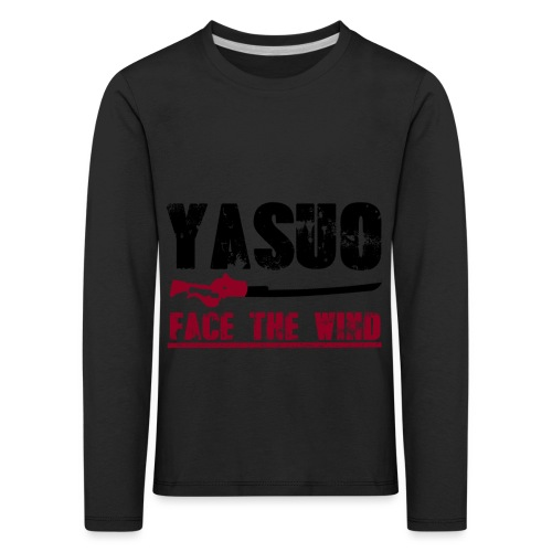 Yasuo Main - Kinder Premium Langarmshirt