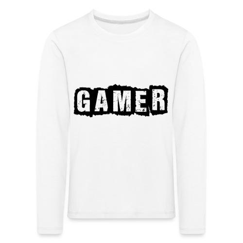 D 40 Gamer - Kinder Premium Langarmshirt
