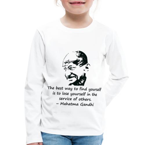 Find Yourself - Kids' Premium Longsleeve Shirt