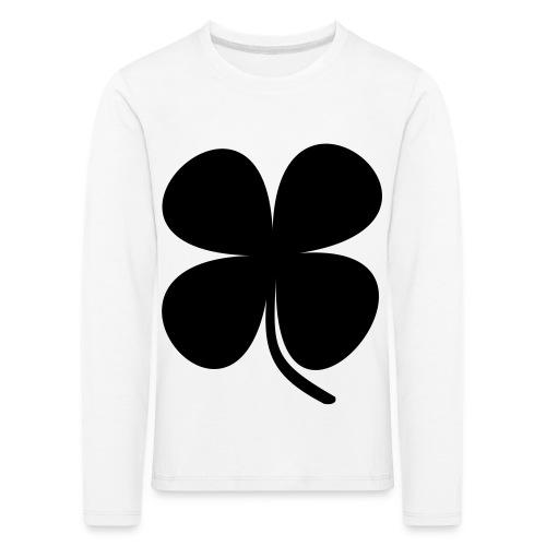 CLOVER - Camiseta de manga larga premium niño