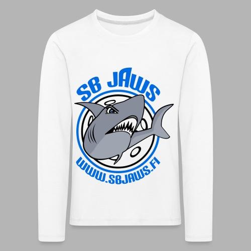 SB JAWS - Lasten premium pitkähihainen t-paita