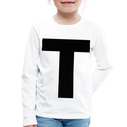 Tblack - Kinder Premium Langarmshirt