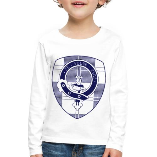 Logo Scouting Erskine 2018 - Kinderen Premium shirt met lange mouwen