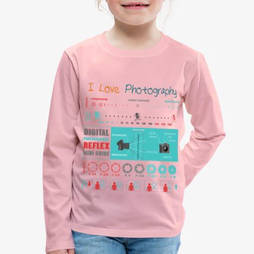Photography 4 - Camiseta de manga larga premium niño