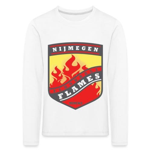 trainingsjack rood - Kinderen Premium shirt met lange mouwen