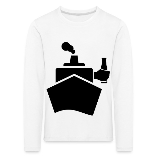 King of the boat - Kinder Premium Langarmshirt