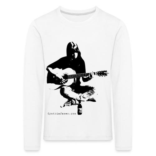 Cynthia Janes guitar BLACK - Kids' Premium Longsleeve Shirt