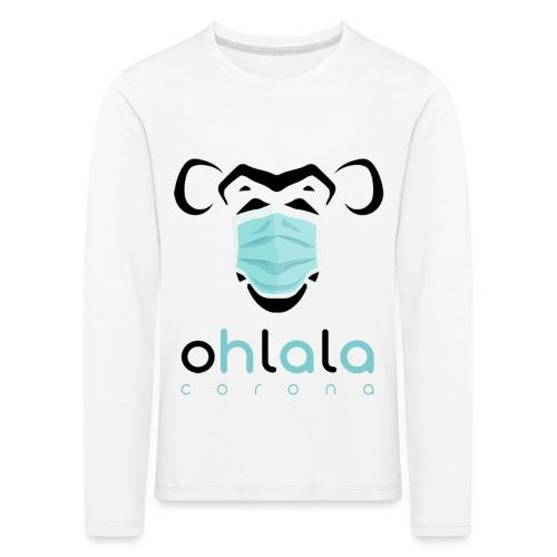 OHLALA CORONA WHITE - T-shirt manches longues Premium Enfant