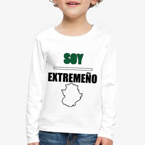 Soy Extremeño. - Camiseta de manga larga premium niño