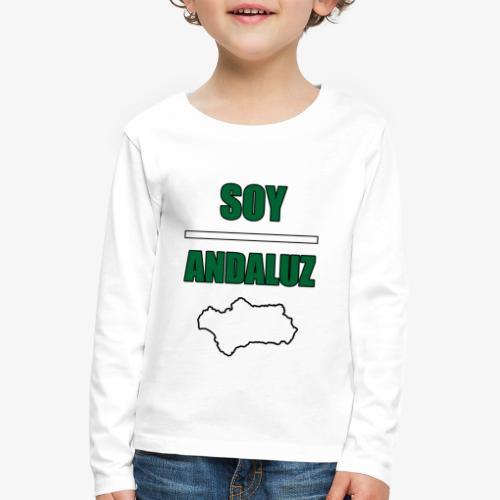Soy Andaluz - Camiseta de manga larga premium niño
