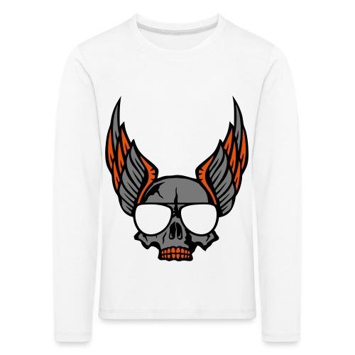 tete mort aile lunette skull aille 1206 - T-shirt manches longues Premium Enfant