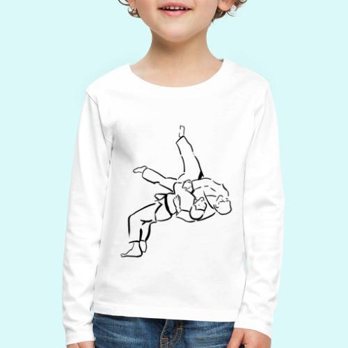 judo - T-shirt manches longues Premium Enfant